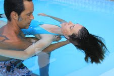 Aquatic bodywork training with Keith Anderson